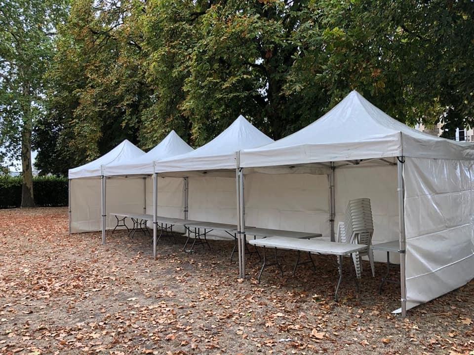 Les caractéristiques de la tente pagode à Amboise et Tours | JST Events
