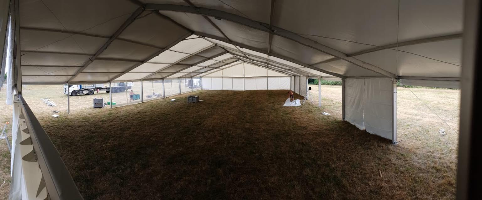 avantages d'une tente pagode pour votre réception à Amboise et Tours | JST Events