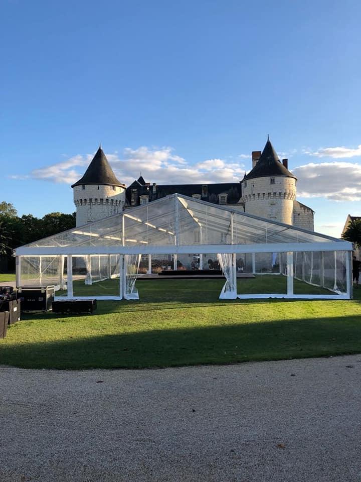chapiteau en verre à Amboise et Tours | JST Events