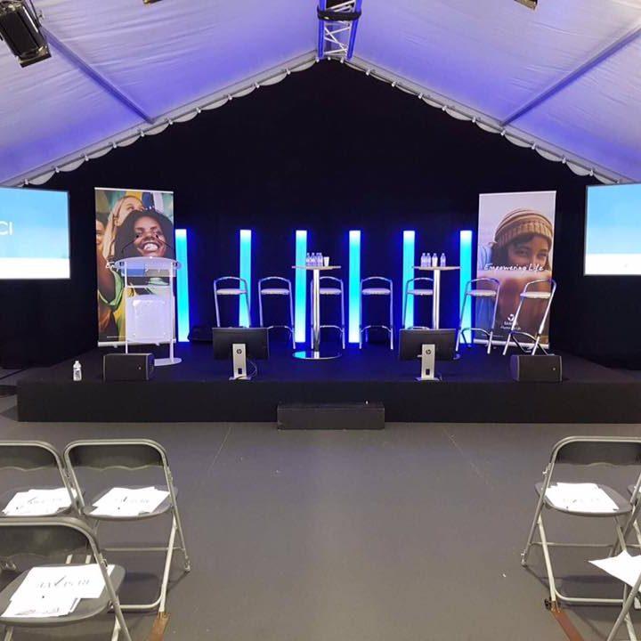Profitez des meilleures solutions d'éclairage pour un chapiteau à Amboise et Tours | JST Events